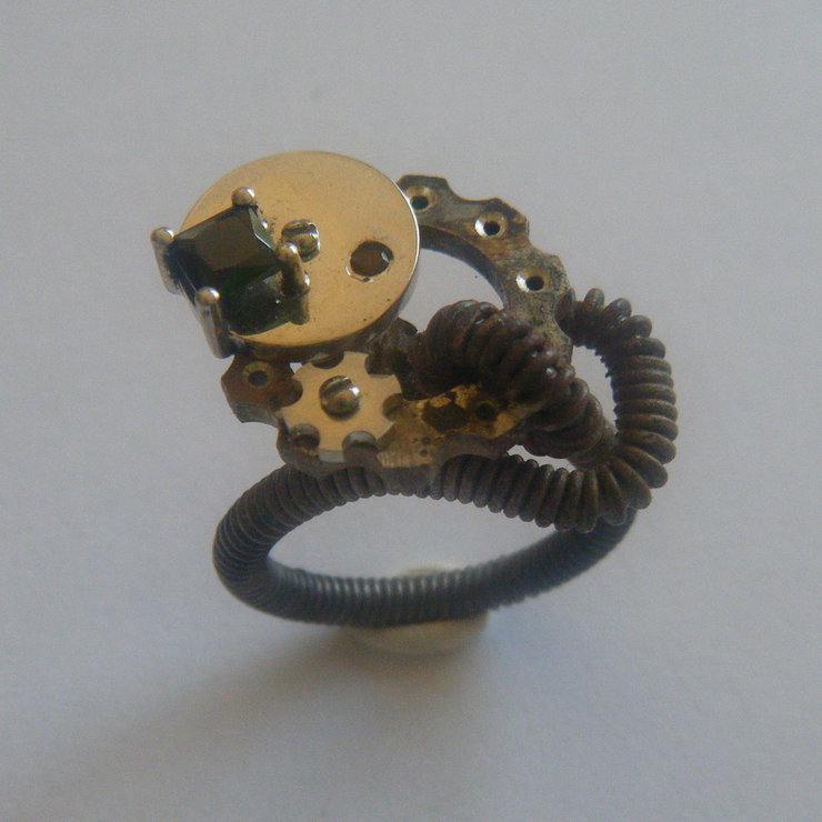 The Steampunk Lily by Indigo Lily Bespoke Jewellery
