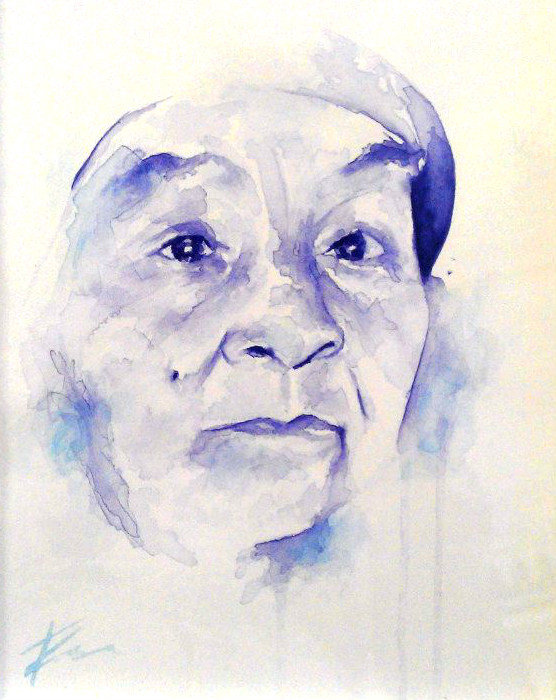 A4 Custom Unframed WaterColour Portraits by Tasneem Kamies Artist