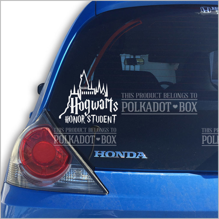 Harry Potter Car Decal by Polkadot Box