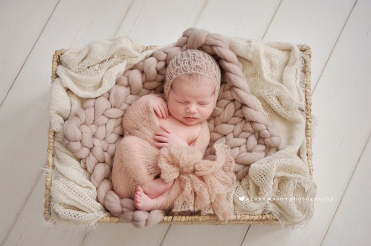 Silk Mohair Butterfly stitch wrap and bonnet set, newborn photo prop. LB-28 by Lavender Blossoms Props