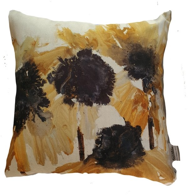 Sunflower Scatter Cover 60 x 60 cm  by Natasha Barnes Home
