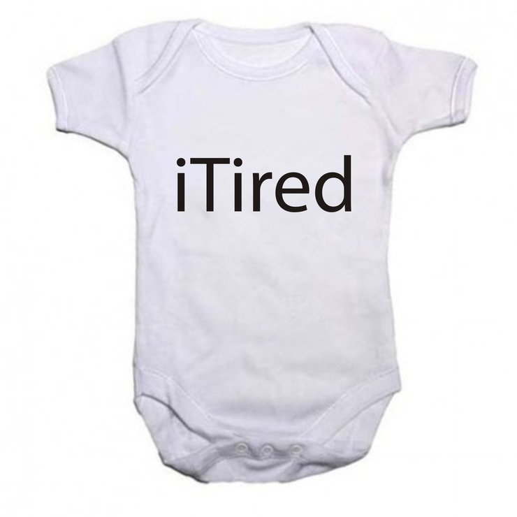 iTired Baby grow by Qtees Africa (Pty)Ltd