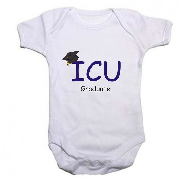 ICU Graduate baby grow by Qtees Africa (Pty)Ltd