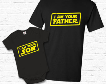 STAR WARS Father And Son COMBO