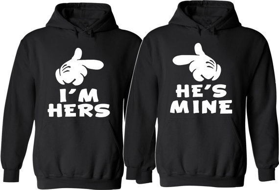 huge selection of e38ef 68522 his and her  039 s Hoodies by SimplyPrintedbyAneen