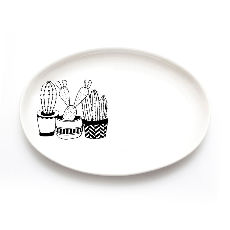 Cacti Jewellery Plate by Sugar and Vice