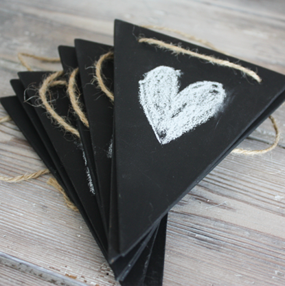 Chalkboard bunting by Two Create