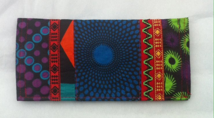'Traditional wallet' by helgé original hand made fabric wallets and bags