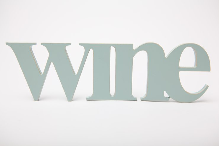 Words - Wooden word wine  by Bokke & Blomme