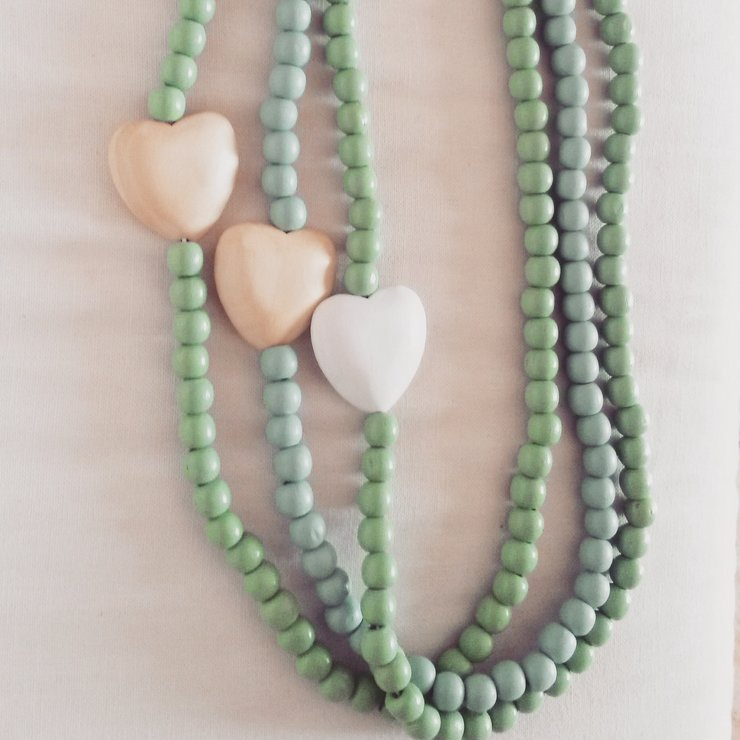 style cm neckless of length germany made plastic beads necklace s images inner row showily vintage