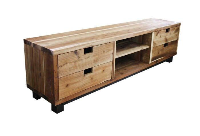 Lovely 4 Drawer TV Cabinet / Stand By The Pallet Collection