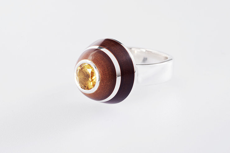 Retro Dome - RL.004 by  Glenn Adendorff Jewellery