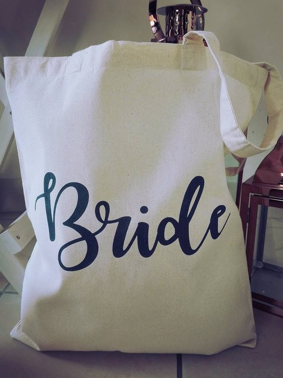 Bride - Tote Bag by Betty Boo