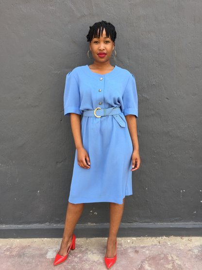 Thobeka dress by Tickle Your Vintage