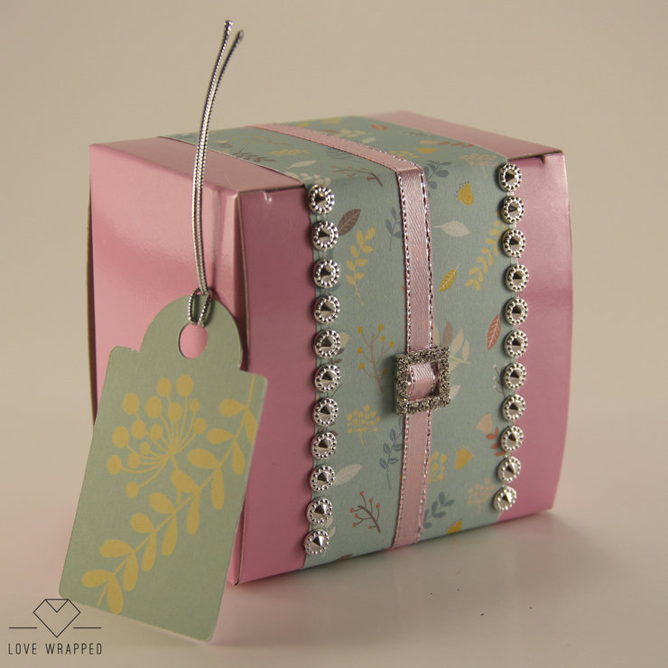 Gift Box (Pink) by LOVE WRAPPED