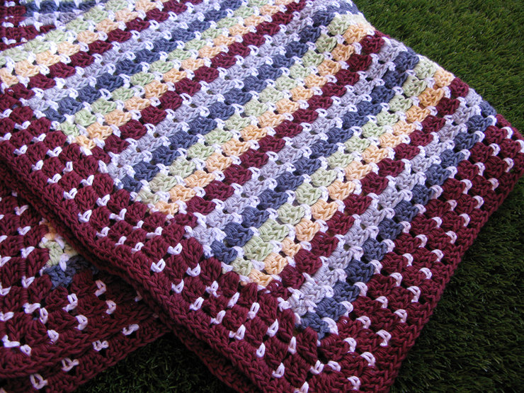 'The Claire' Cotton Blanket by Annie & Granny