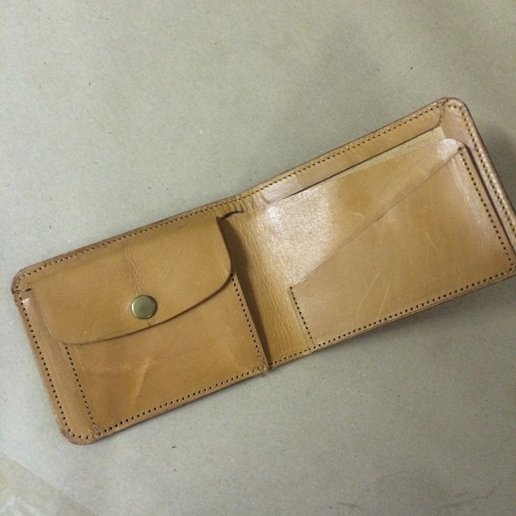 Trinity Fold Leather Wallet by Savior Brand Co