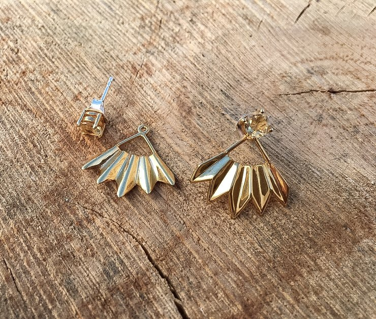 Ray Earrings by Edel Designer Jewellery