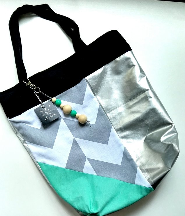 Bling on the weekend Tote by Lovely