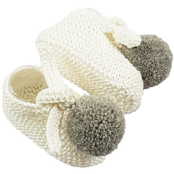 Willow Baby Booties (0-3 months) by Baby Couture