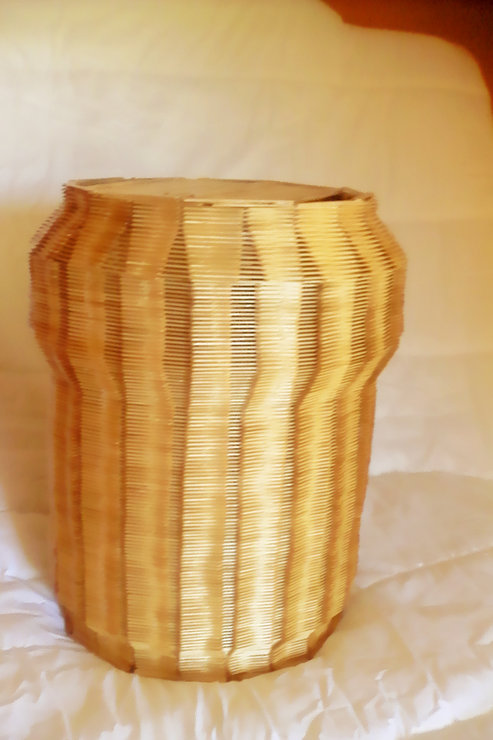 LC Laundry Basket by Lisbon crafts