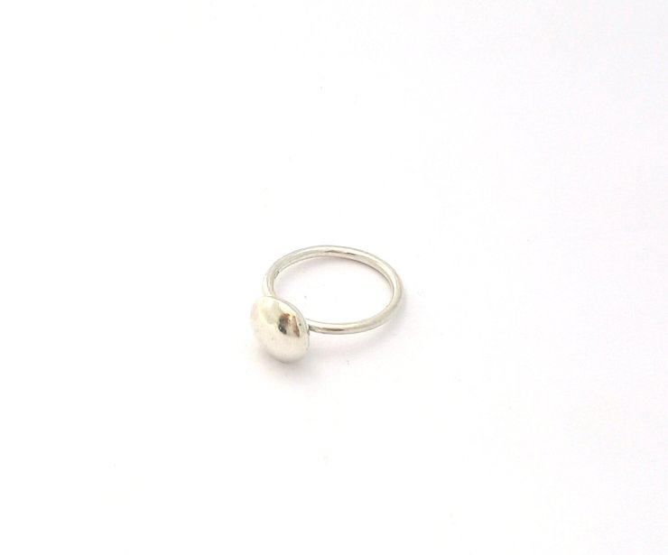 "Silver ""sweetie"" ring by a ring to it"