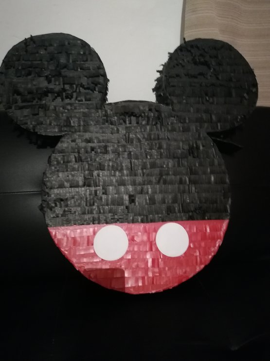 Mickey Mouse Ears Pinata (Red)