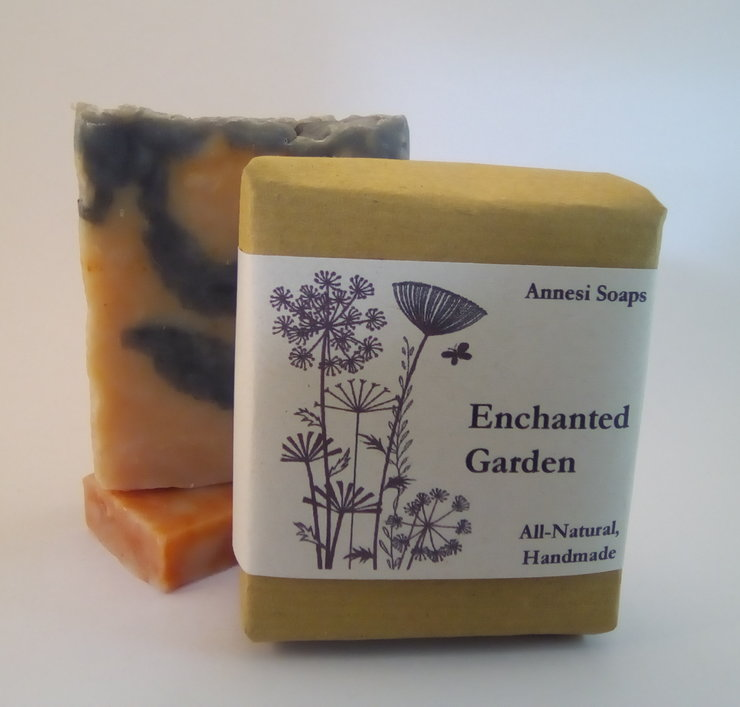 Enchanted Garden Handmade Soap by Annesi Soaps