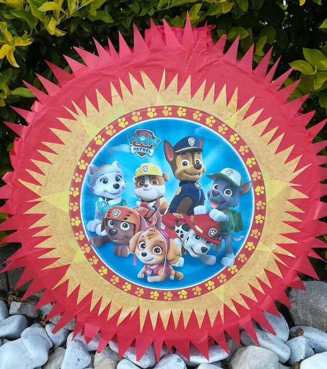 Paw Patrol and Characters Pinata by Piñatas Galore
