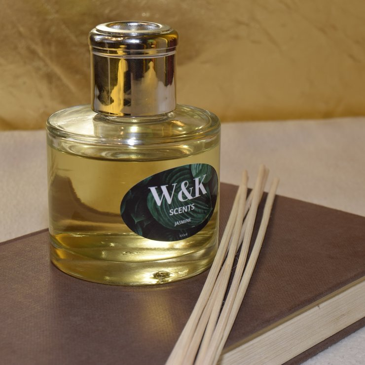 Reed diffuser by W&K Scents