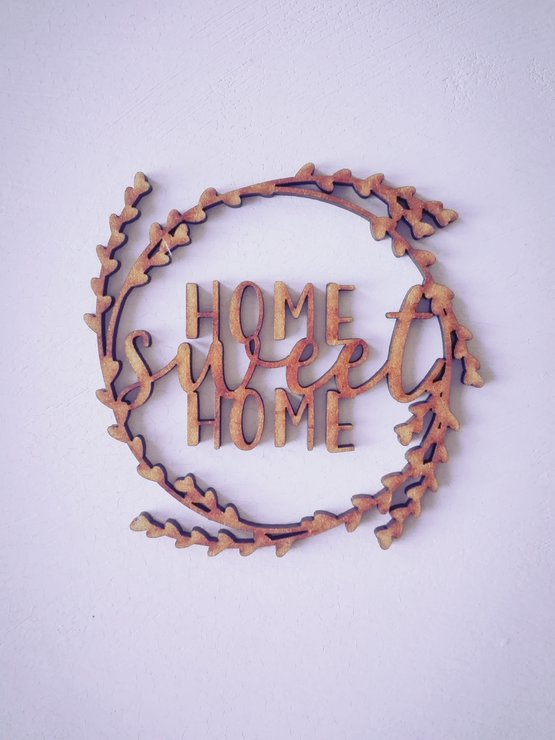Coaster Set x4 - Home Sweet Home by Betty Boo