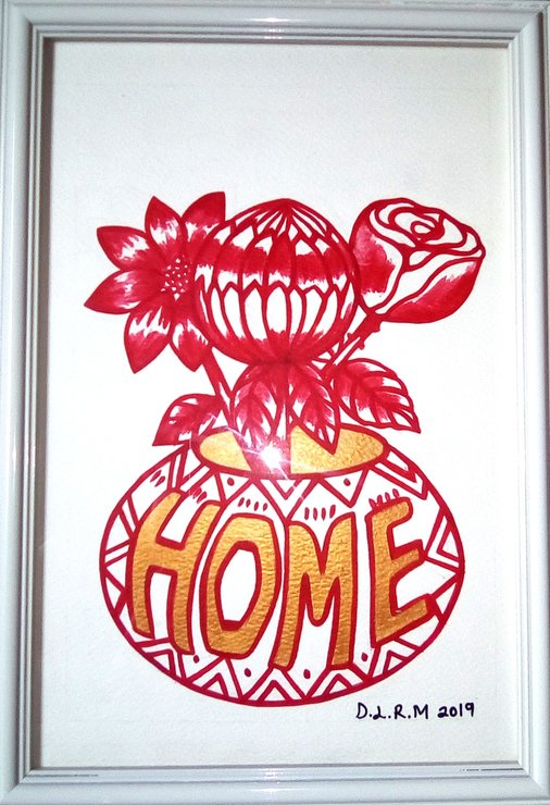 Home - Original wall art by Creativ-Cream Designs