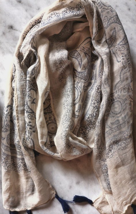 Cotton scarf (various designs) by A life lead simply