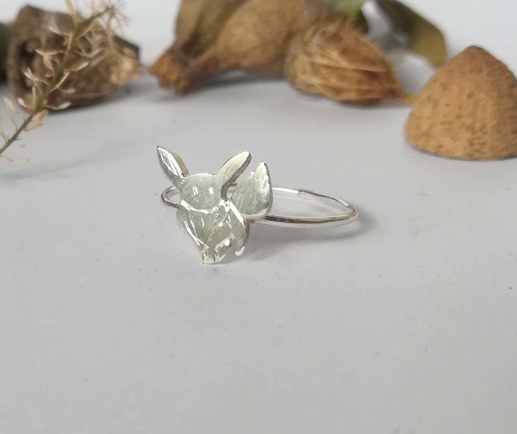 Eevee ring by Aurea Jewellery Design