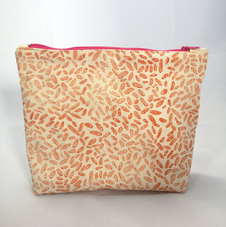 Big Boxy in Orange Pebbles by Sew & Such