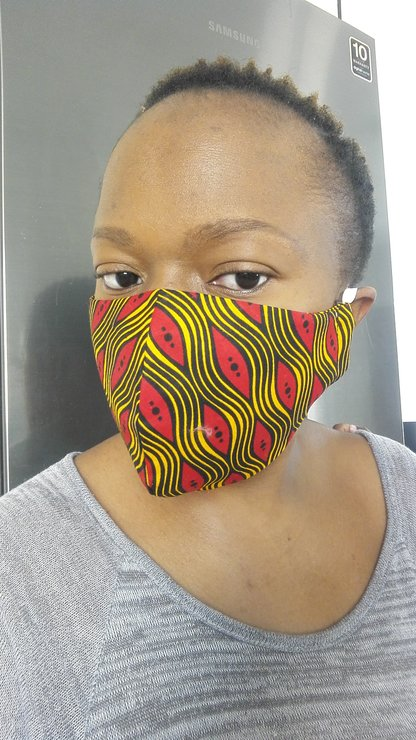 10 Piece Ankara Masks by Mebalabala