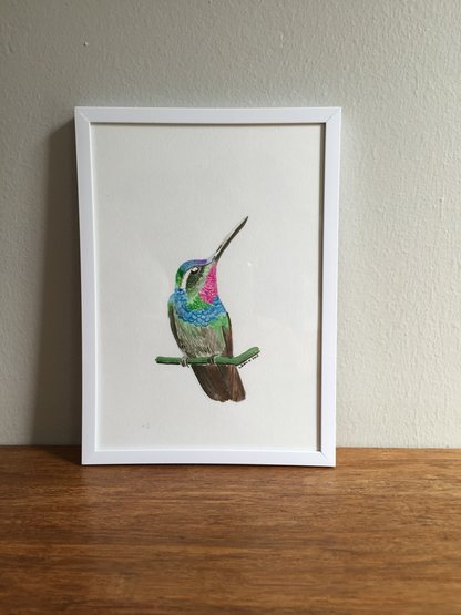 Printable wall art - Hummingbird by Tomme Thumb