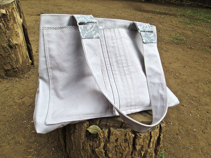 100% heavy duty cotton hold-all by helgé original hand made fabric wallets and bags