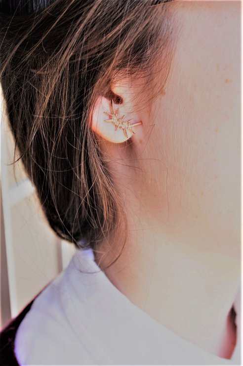 Edelweiss Studs small by Edel Designer Jewellery