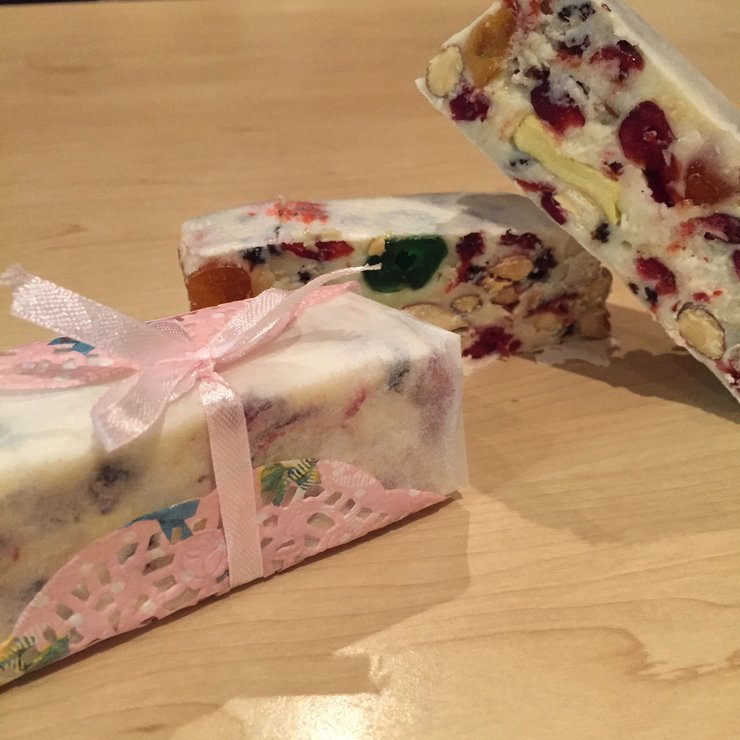 Handmade Fruity Nougat (100g) by Made with Love by Courtney