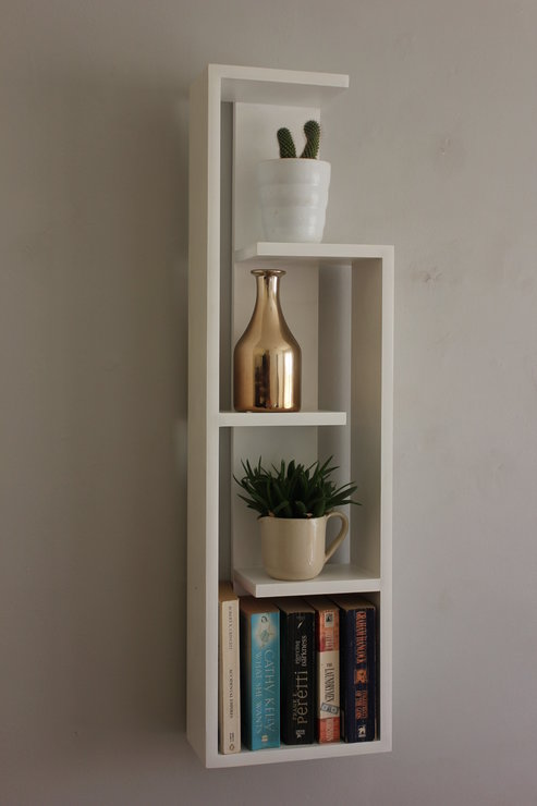 Slim Stakked Shelf by B&K Design & Decor