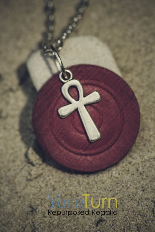 SPIRIT Ankh Pendant by Wolf & Whale