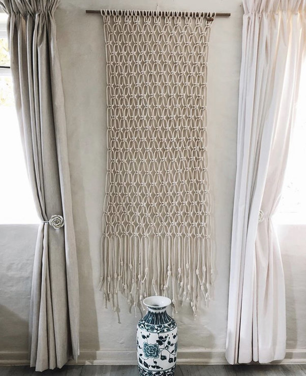 Ubud Wall-hanging by Naturally Macrame