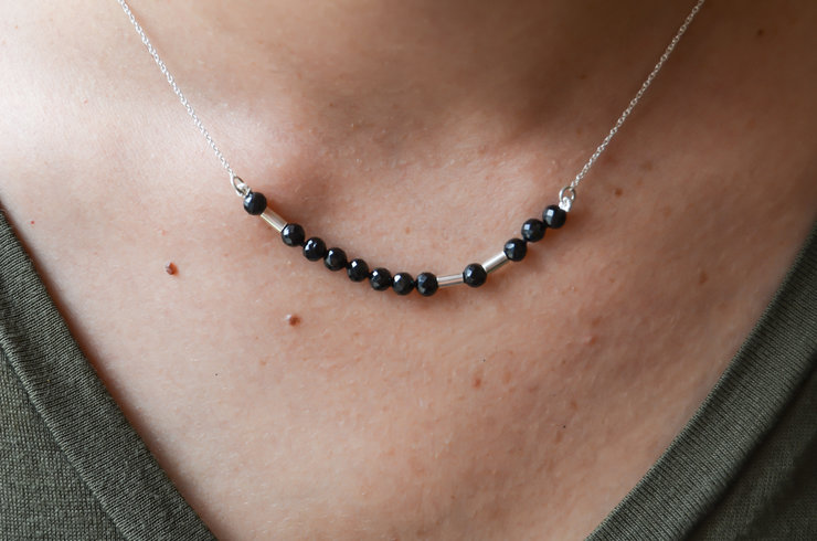 Morse code Necklace  by Edel Designer Jewellery