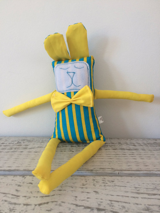 Scrappy Buddy Soft Toy - SB0062 by The Twisted Cloth