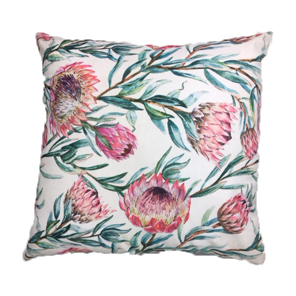 Protea Scatter Cushion 60cm x 60cm with Inner by Amore Home