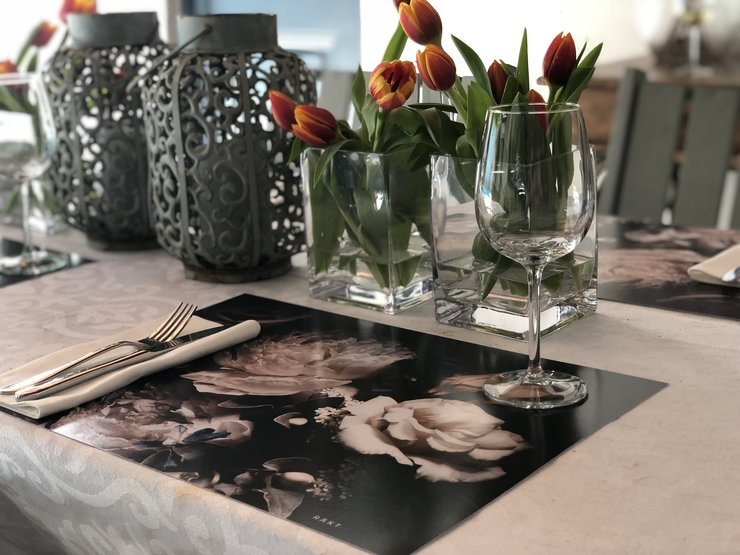 3 for 2 sale | Laminated Paper Placemats | Peonies | PMF014 by RAkt