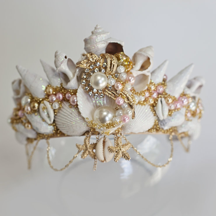 Mermaid Goddess Crown by Sunkissed Handmade