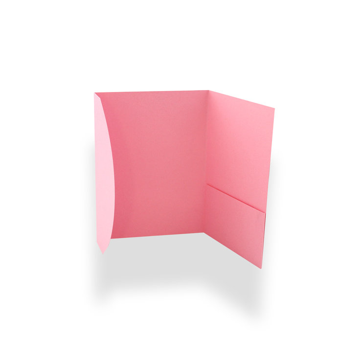 10x Pale pink pocket  invitations -DIY -02 by Timeless Memories