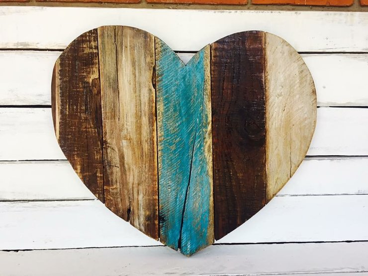 Wooden Rustic Heart Wall Decor Home By Hope Creations